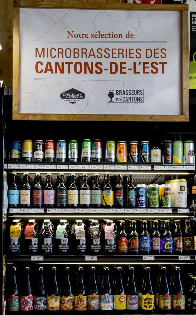 bières des cantons de l'est